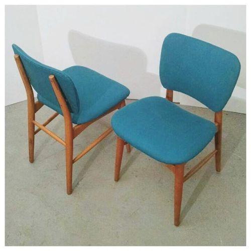 6 Beech Chairs