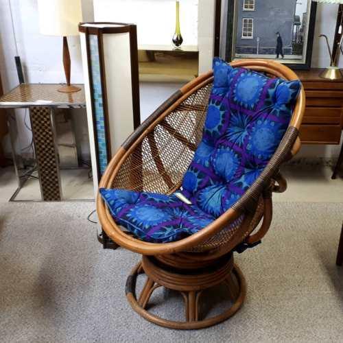 Rattan Swivel Chair