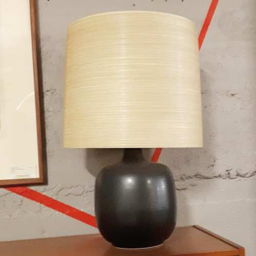 Lotte Lamp in Charcoal