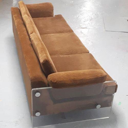 Acrylic Arm Sofa