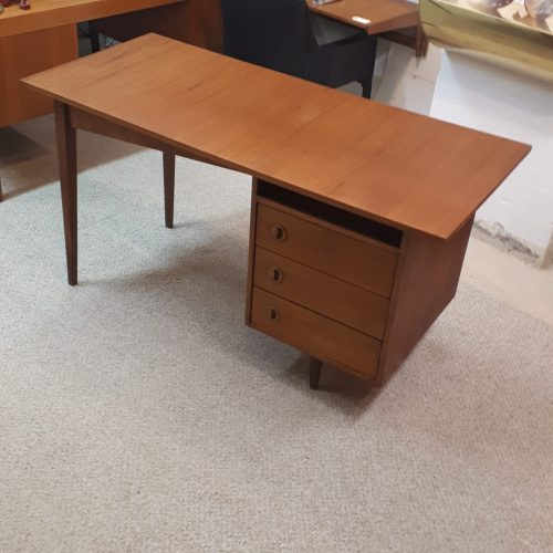 Walnut and Teak Desk