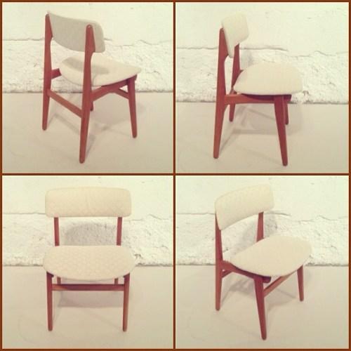 x8 Danish Teak Dining Chairs