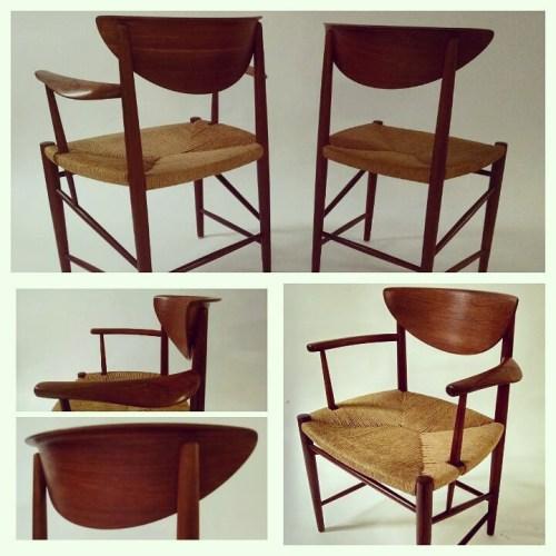 x8 Hvidt Molgaard Chairs