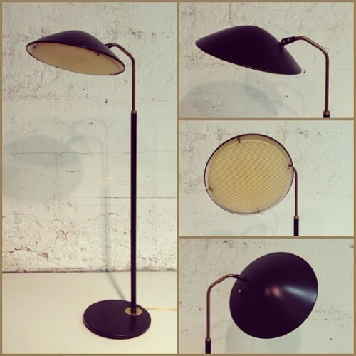 Gerald Thurston Floor Lamp for Lightolier, USA