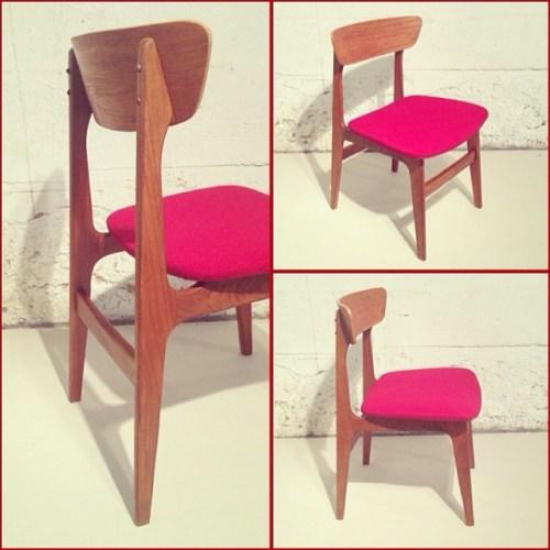 x4 Teak Dining Chairs