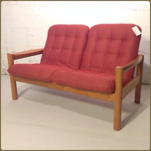 1970s Domino Love Seat