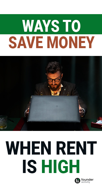 ways to save money when rent is high