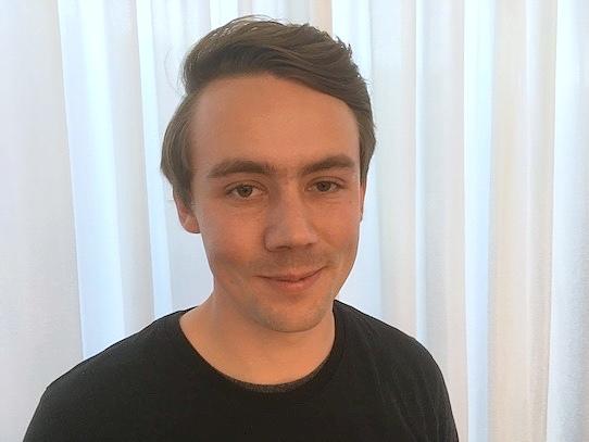 Christian Piechnick, CEO of the Dresden based startup Wandelbots. Photo: Stephan Hoenigschmid