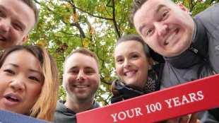 Das Gründerteam von Your 100 Years aus Dresden. Foto: PR/Your 100 Years