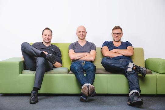 """Carsten Bether, Thomas Müller und Thomas Herbst (v.l.n.r.) haben gemeinsam """"contractus"""" ins Leben gerufen. Foto: PR/Oliver Killig für """"contractus"""""""