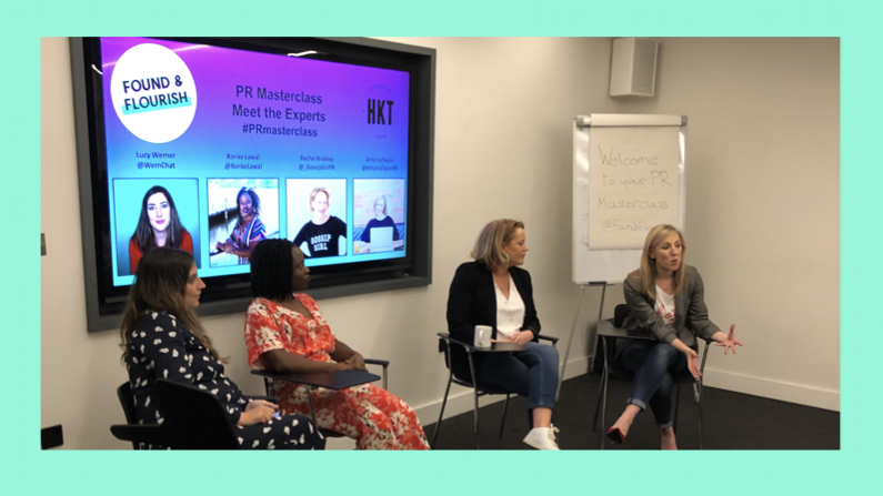 How to get publicity for you and your business – A round-up of our PR Masterclass event