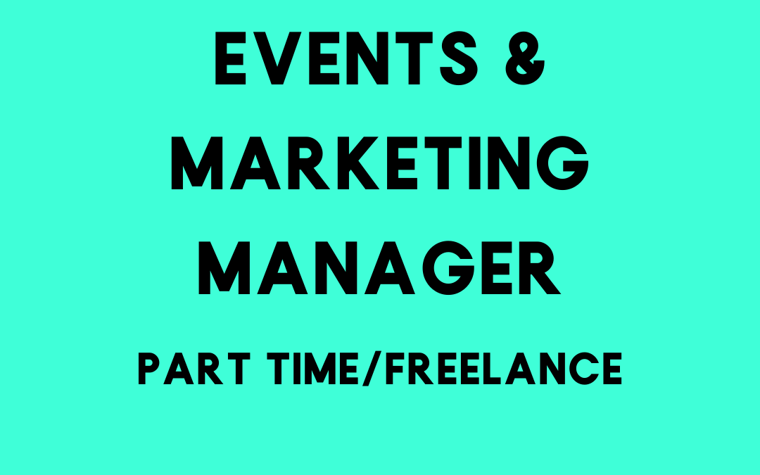 Events & Marketing Manager