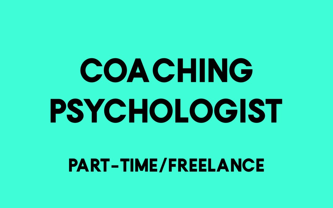 Coaching Psychologist
