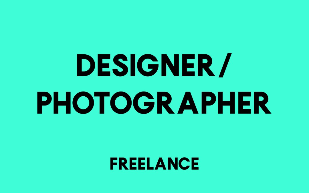 Designer photographer