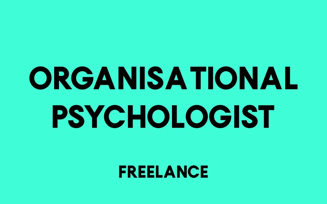 Organisational Psychologist