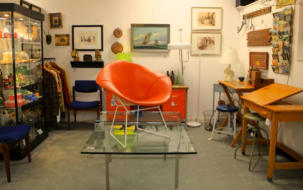 Found In Ithaca 1960s Bertoia Diamond Chair By Knoll Sold Vintage Steelcase Retro Orange Desk Sold Antique Drafting Desk Sold