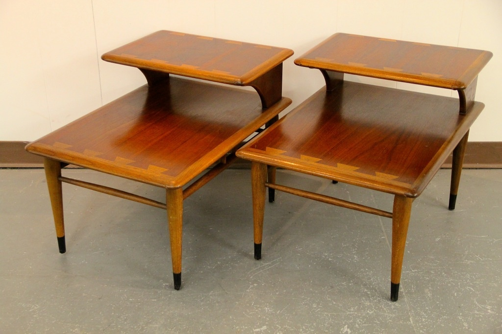 FOUND In ITHACA » Mid-Century Lane 2-Tiered End Tables (SOLD
