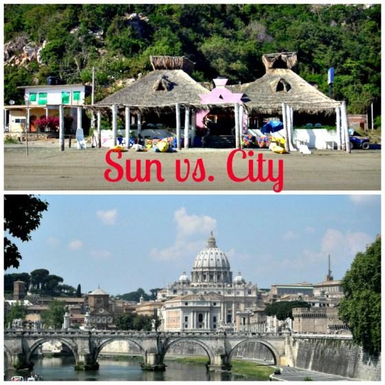 Sun vs City Cruise Ships
