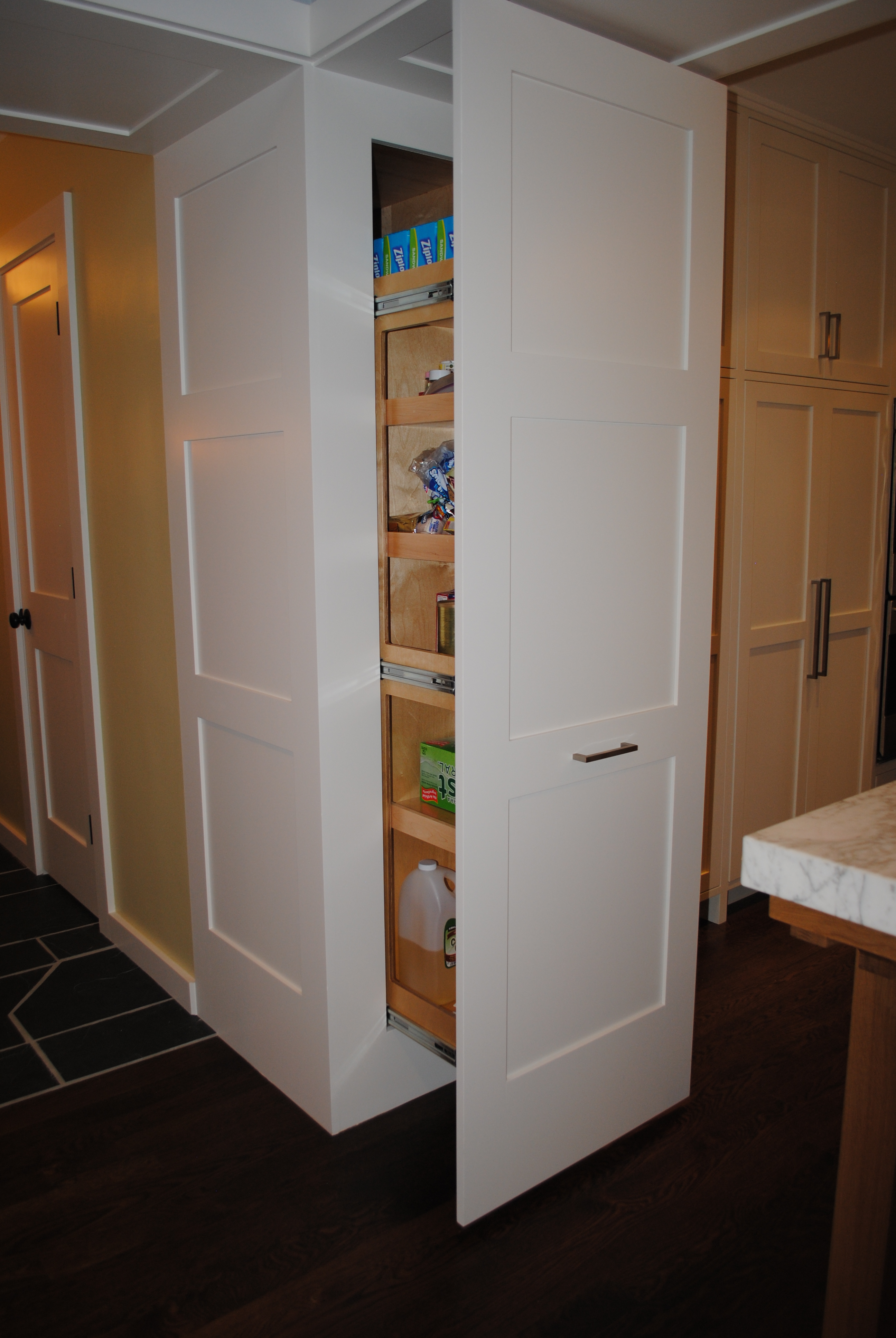Pantry Cabinet Recessed Pantry Cabinet With Recessed