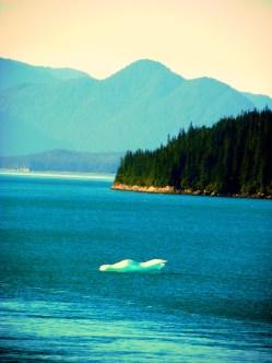 iceberg in view (© 2010 Tisha Clinkenbeard)
