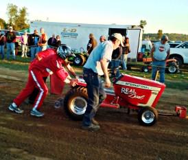 red mower competitor (©2011 Tisha Clinkenbeard)