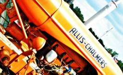 orange allis chalmers