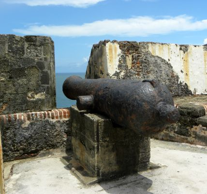 El Morro cannon