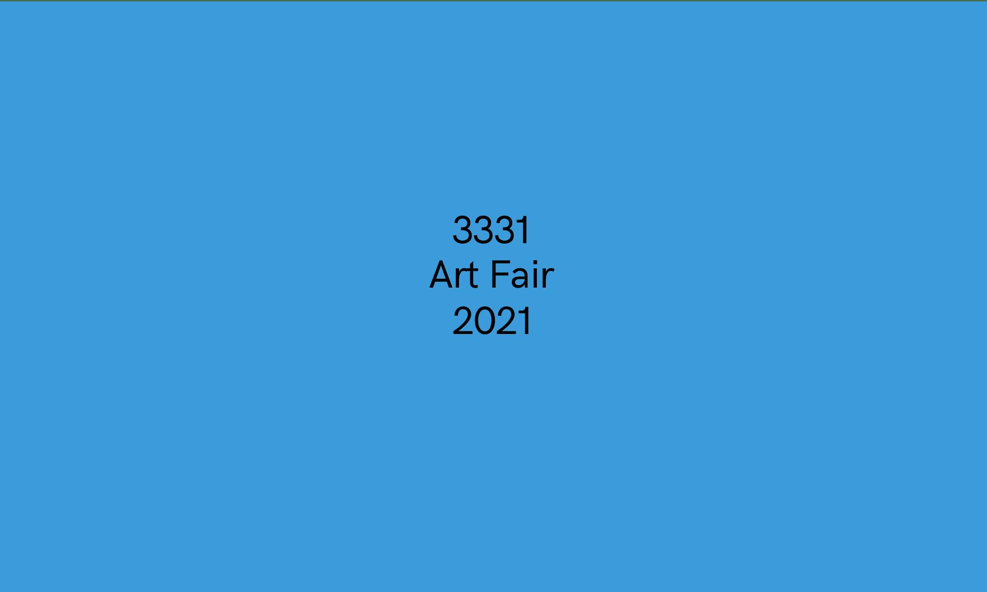 3331 Art Fair 2021