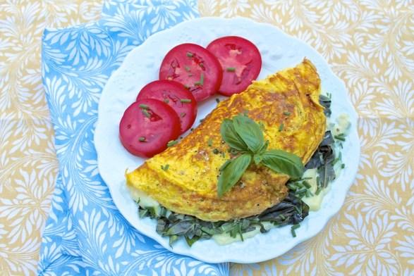 Summer Omelet for 2
