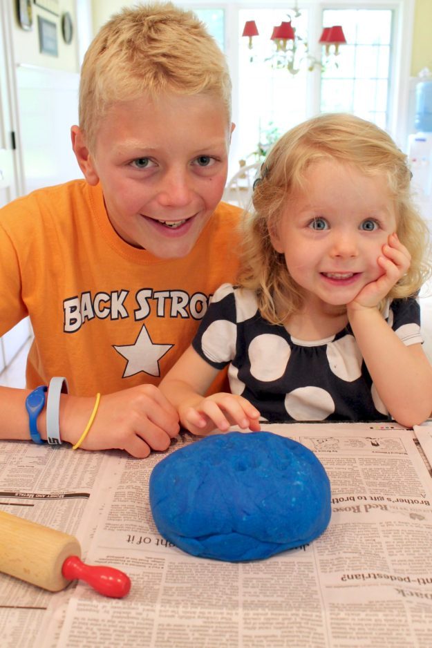 Homemade Play Dough is easy with these simple instructions. As an added bonus, the texture is somuch smoother than store-boughtand there's less crumby mess!