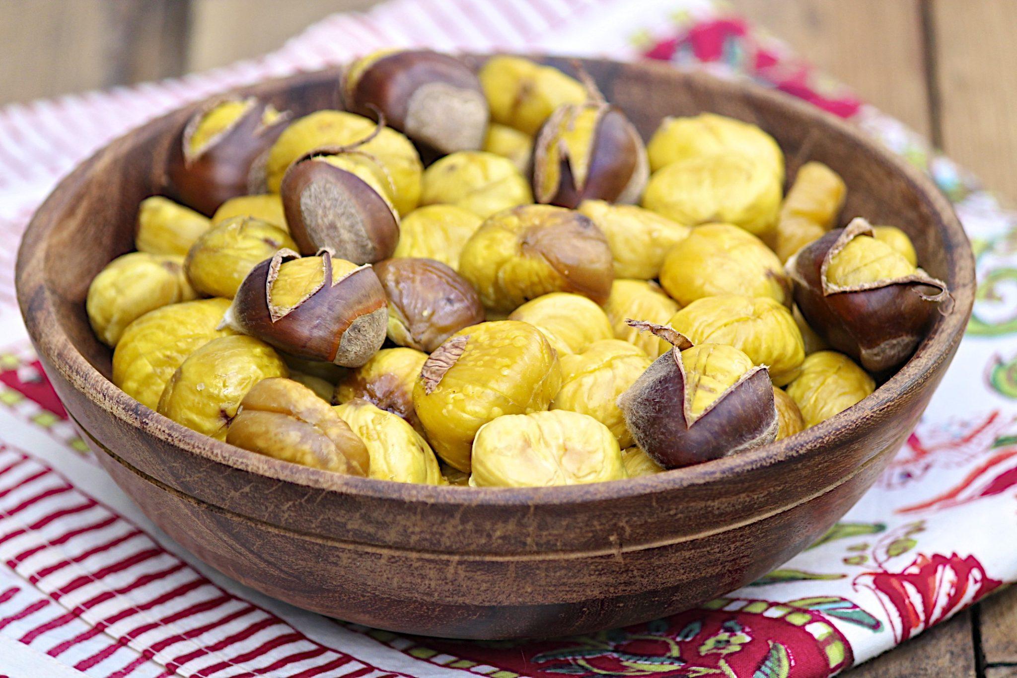 Farmhouse Roasted Chestnuts – The Fountain Avenue Kitchen