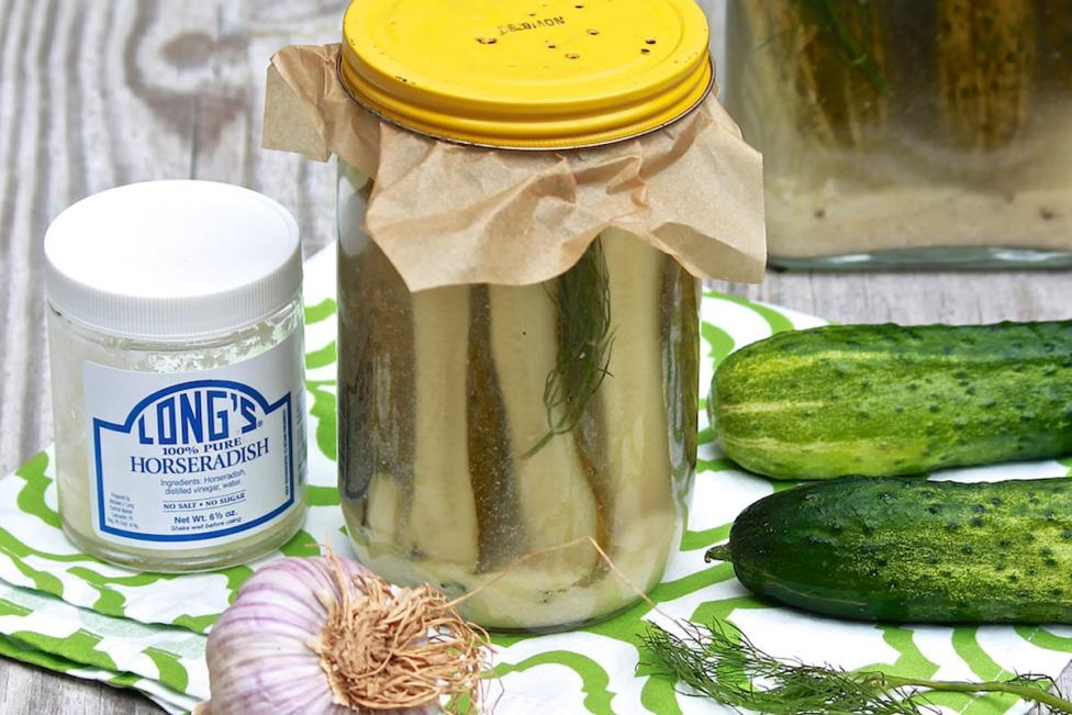 Old-Fashioned Horseradish Pickles – The Fountain Avenue Kitchen