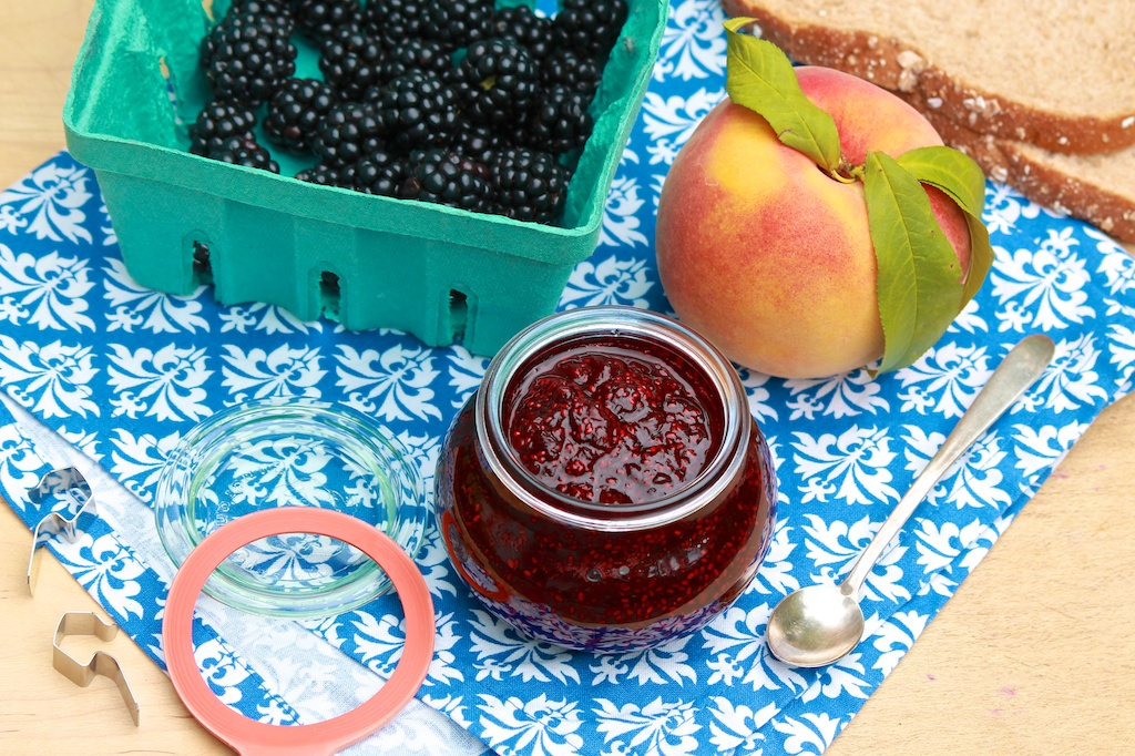 No-Sugar Homemade Jam-choose your favorite flavor (even use frozen fruit) in this easy, small batch recipe