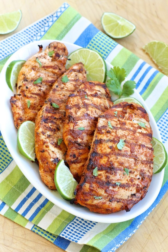 Chili Lime Chicken -- an easy, flavor-packed wet rub