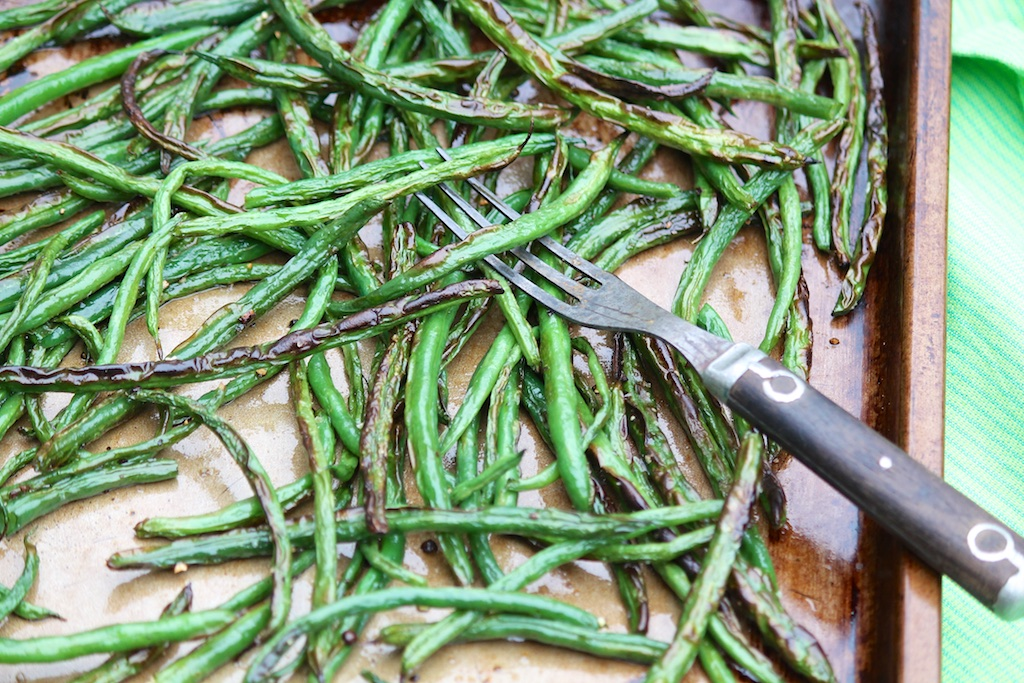 Such a quick, easy (and tasty!) way to cook green beans