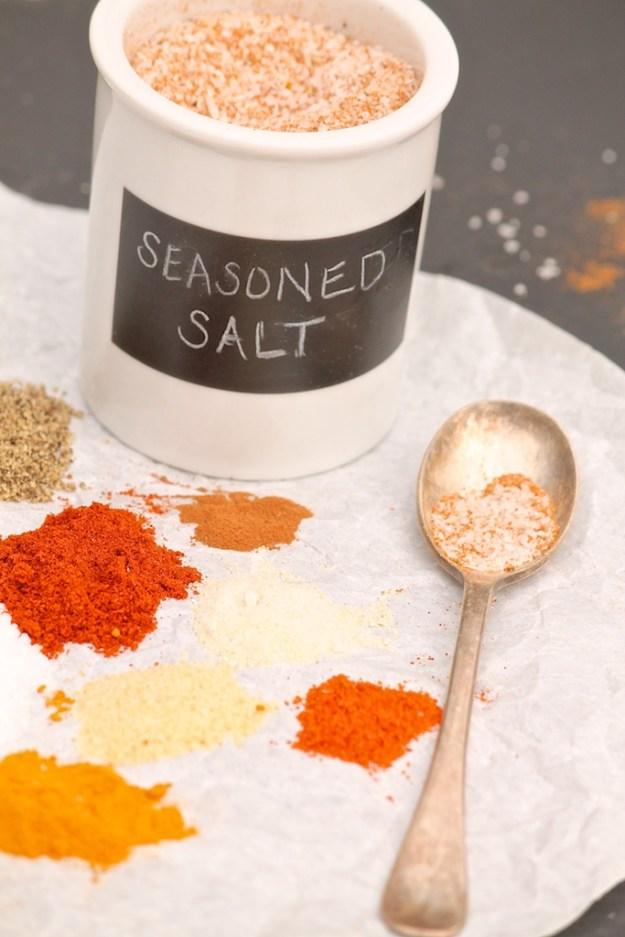 Homemade Seasoned Salt (like Lawry's)
