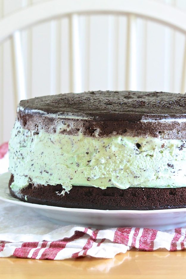 John's Favorite Ice Cream Cake