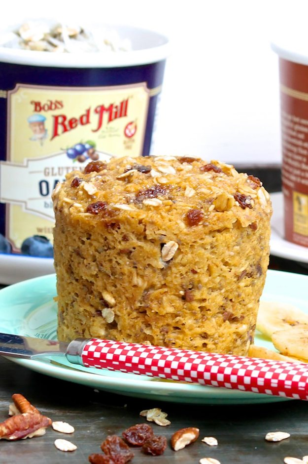 "Single Serve ""Baked"" Oatmeal Cup"