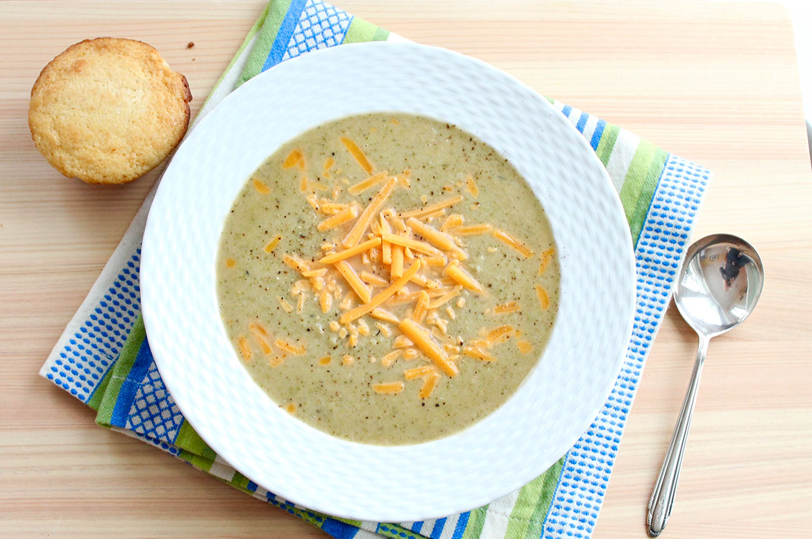 The Best Broccoli Cheddar Soup – The Fountain Avenue Kitchen