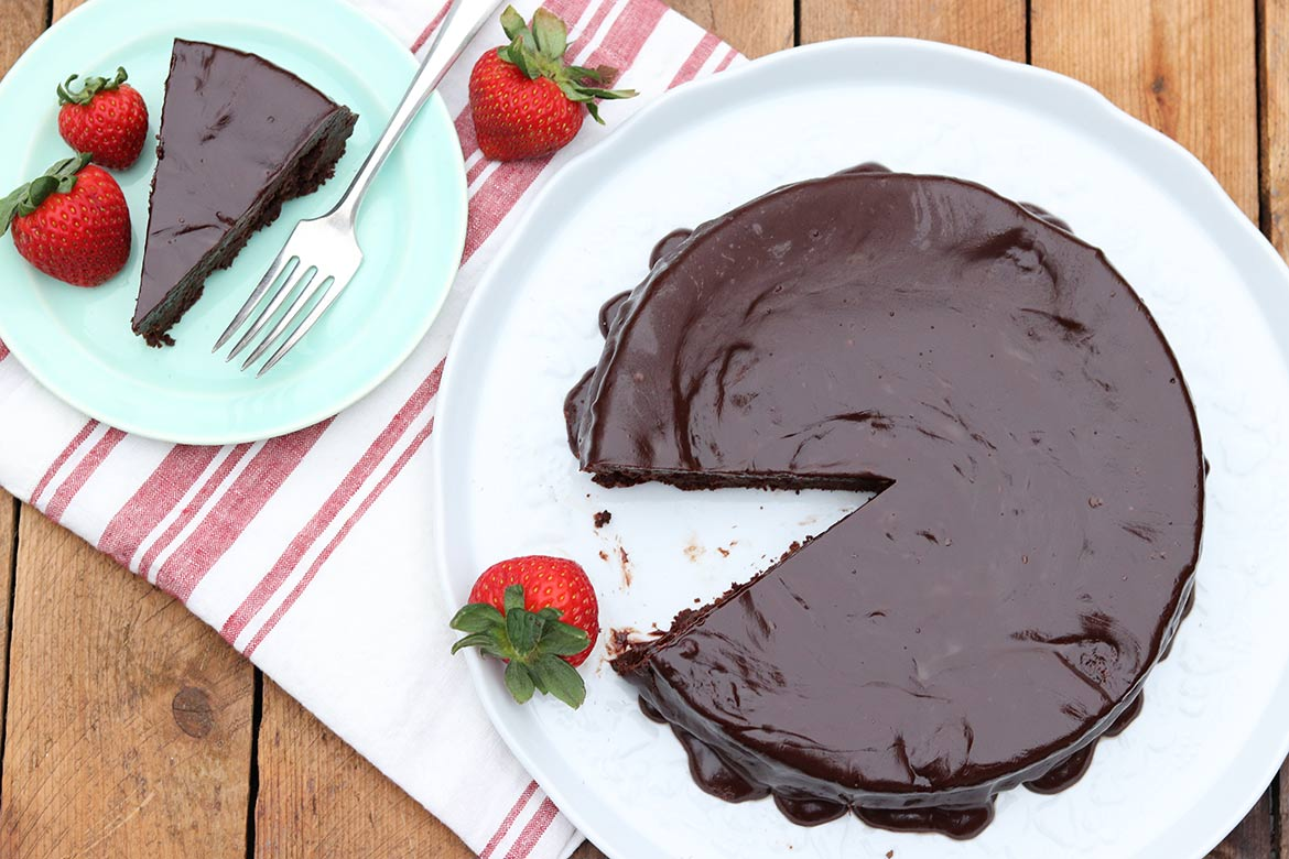5a18ad417cd Favorite Flourless Chocolate Cake – The Fountain Avenue Kitchen