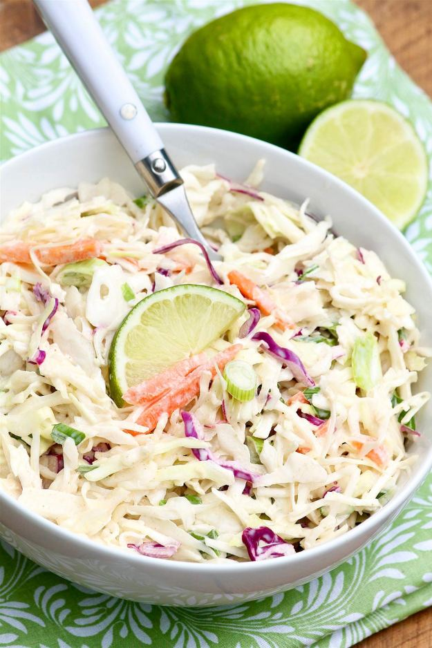 Cumin Lime Coleslaw's crisp texture, vibrant flavor and impressive versatility might just make this super simple side dish a new favorite!