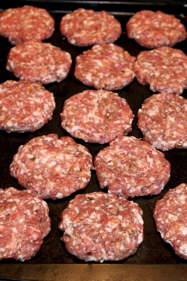 Homemade Breakfast Sausage Patties - Love sausage but trying to eat healthier? Ground pork and a short list of spices create a healthy alternative to sausage that can be used in so many ways.