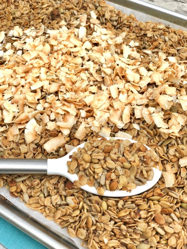 Lolita's Low Sugar Granola -With 125 calories and less than 3 grams of sugar per serving, this delicious granola is truly healthy!