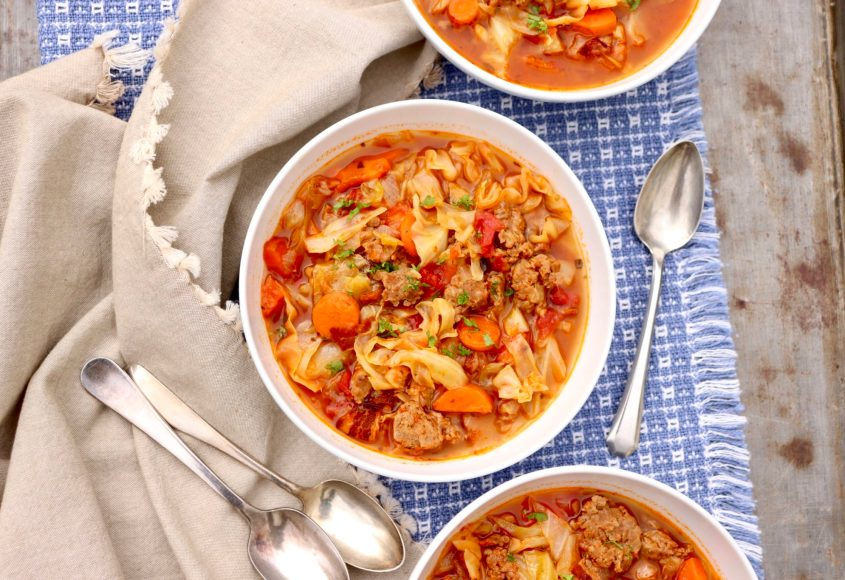 Sausage and Cabbage Stew