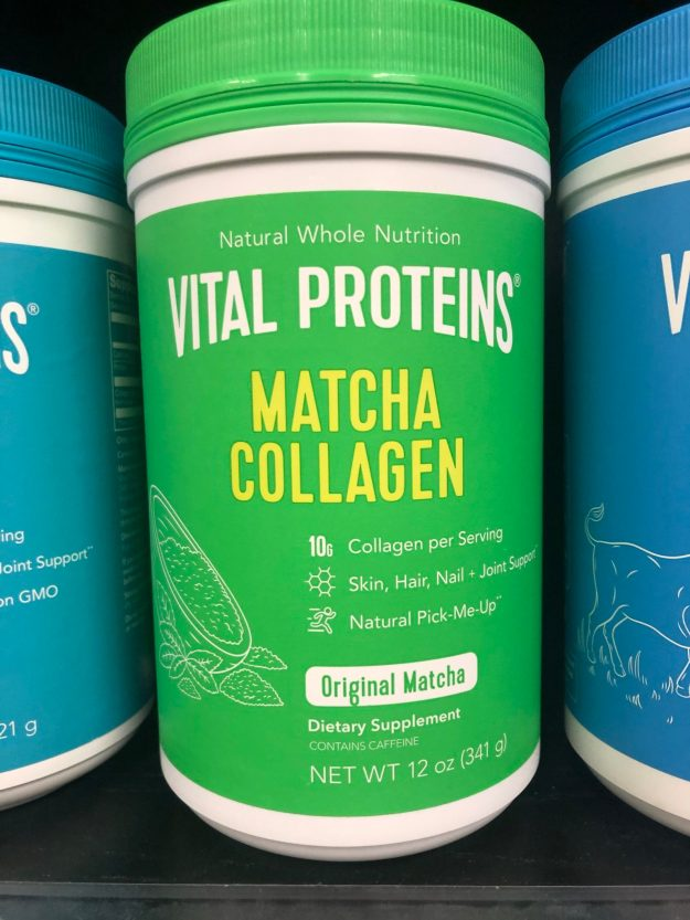 Matcha with collagen