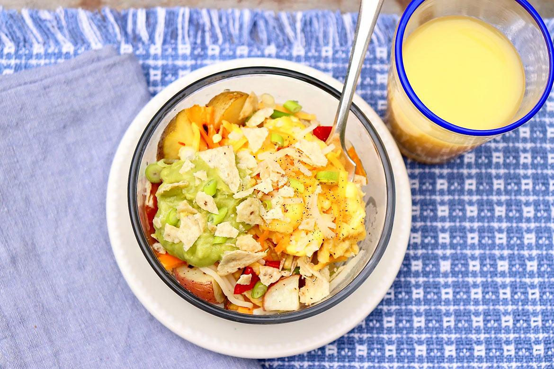 Make-Ahead Savory Breakfast Bowls