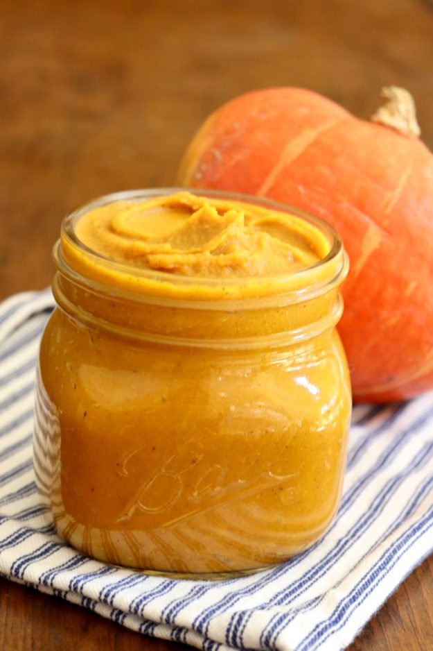 ROASTED PUMPKIN BUTTER - If you've never made pumpkin butter before, this foolproof recipe is reason to start. I could eat it by the spoonful...and often do!