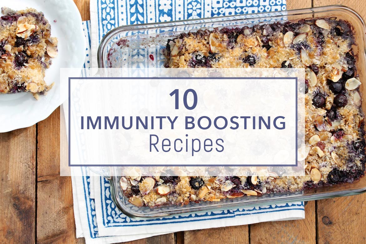 Hand-picked by a registered dietician, these 10 approachable, antioxidant-rich recipes will help boost your immune system in a deliciously enjoyable way!