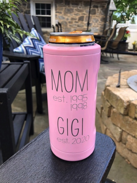 Favorite Things customized drink ware