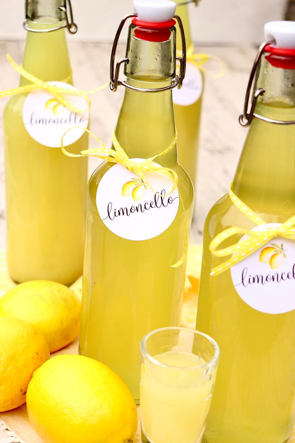 Bring the Amalfi Coast to you with this easy-to-make Italian liqueur. The lightly sweet, lemony flavor is perfect as a mixer or an after-dinner drink and makes a festive holiday or hostess gift.
